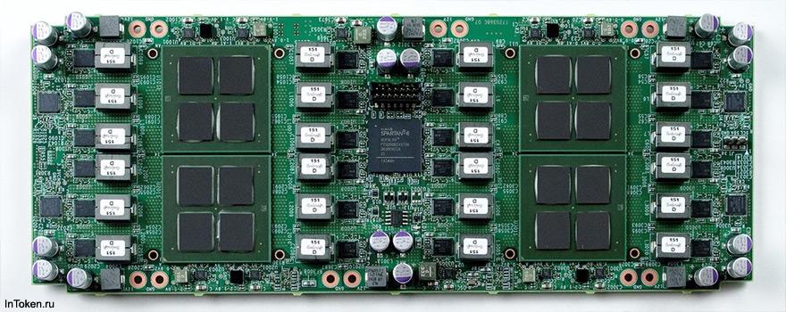 Японская компания перешла на 12нм технологию при производстве чипов SHA256 для асиков