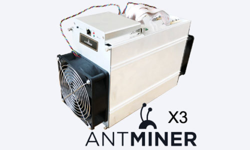Bitmain выпустил новый асик Antminer X3 на CryptoNight