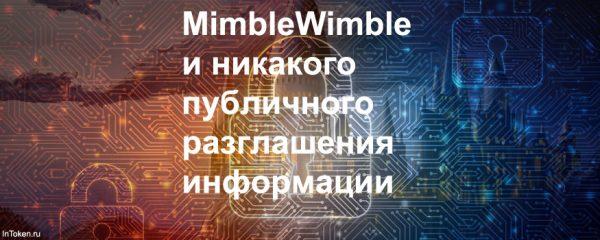 Протокол MimbleWimble - блокчейн